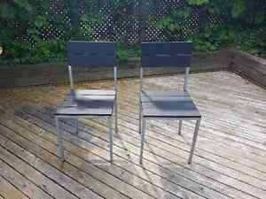 Two indoor chairs