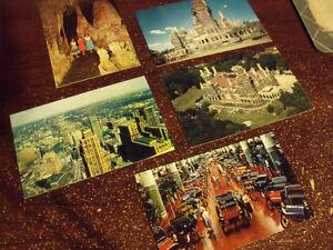 carte postale 1958 Québec City Québec image 1