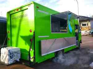 ~ Food Truck ~ Remodelled Ford Purolator Commercial Truck