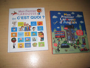 LA LECTURE EN CADEAU- collection IMAGERIE - LAROUSSE  etc
