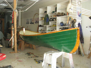 Restored St Lawrence Rowing Skiff