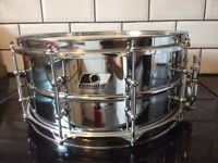 Ludwig snare black Beauty style lugs