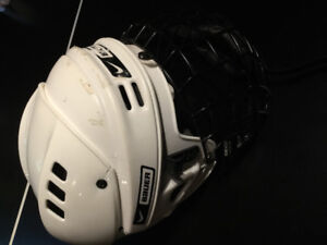 Bauer Hockey Helmet With face shield