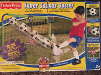 New in Box- Soccer Net with sounds!