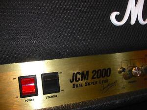 MARSHALL JCM 2000 HEAD / MATCHING 1960A CAB MINT London Ontario image 2