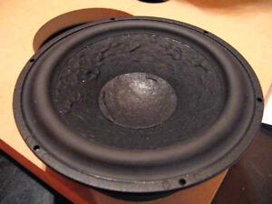 pro-ac response 2.5  and  3.8 woofer