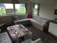 static caravan at Whitley bay holiday park