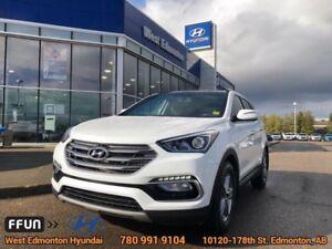 2018 Hyundai Santa Fe Sport Luxury AWD  - Navigation