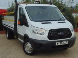 2016 Ford Transit 2.2 TDCi 125ps Heavy Duty Dropside Full Roadside Spec 2 d...