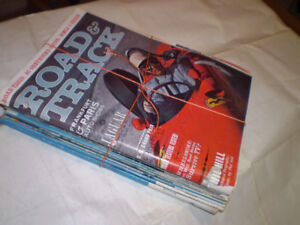 Vintage Road and Track Magazines