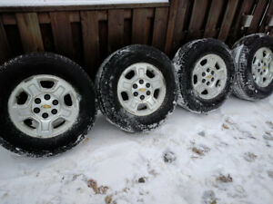 "4 x All Season Tires with 17"" Aluminum Rims for Sale!!!"