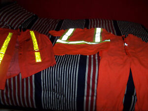 work king overalls,storm fighter reflective jacket and shirt Stratford Kitchener Area image 1