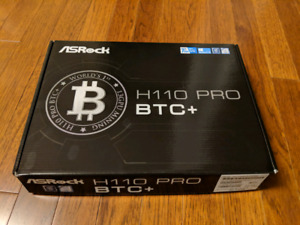 Asrock H110 Pro BTC+ motherboard (brand new)