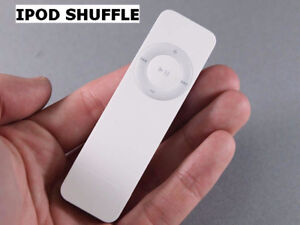 iPod Shuffle (hi-res audio), lots of portable audio accessories