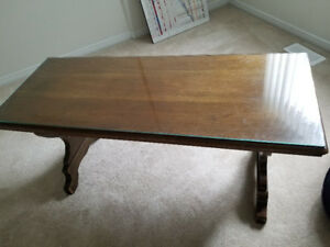 Solid Wood Antique Coffee Table
