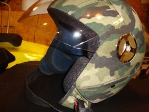 FOR SALE:  SAFETY HELMET WITH VISOR FOR ATV OR SNOWMOBILE