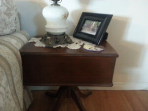 Stunning Antique End Tables