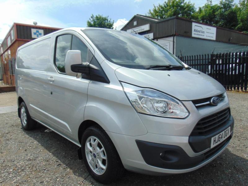 Ford Transit Custom 2.2TDCi ( 125PS ) L1H1 Limited 2014 ( 64 Reg )