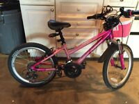 Girls Pink NORCO Jem Mountain Bike for sale - Used
