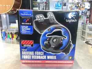 PS2 driving force . We sell used video games. Get a deal