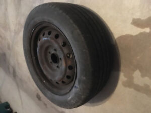Set of Michelin 16 inch All-season Tires on Rims P215 60R16 94S