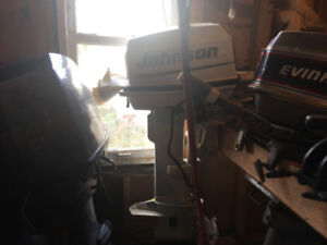For sale various outboard motors Johnson, Evinrude , Volvo,