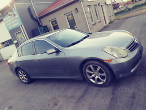 2005 Infiniti G35 Leather Loaded Sunroof Great Deal