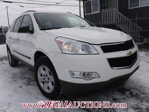 2010 CHEVROLET TRAVERSE LS 4D UTILITY AWD