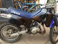 Yamaha DT 125 off road