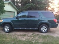 Reduced!! 4x4-2001 Toyota Sequoia-Must sell!
