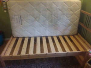 Ikea Twin bed with mattress