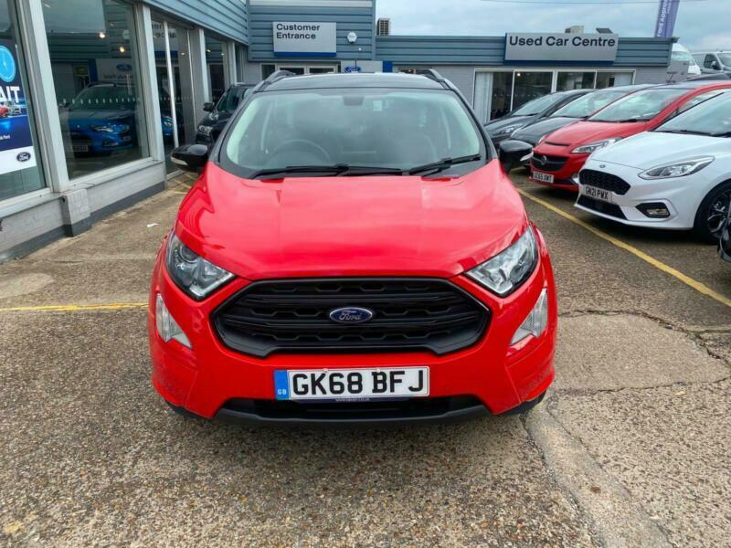 2018 Ford Ecosport 1.0 EcoBoost 125 ST-Line 5dr Auto HATCHBACK Petrol Automatic