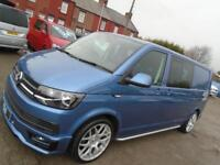 Volkswagen Transporter lwb highline 6 speed factory kombi 17 reg NOW RESERVED