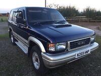 isuzu bighorn 3.1 diesel auto one owner low mileage