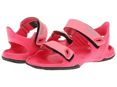 Teva Girls Pink Open Toe Sandals Little Girls Size 10 - Now on Sale!