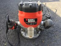 Black & Decker Router / Hardly Used