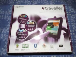 Hipstreet Traveller HD Capacitive GPS Tablet (HS-7DTB8-16GB)