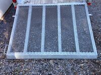 GALVANIZED RAMP FOR UTILITY TRAILER