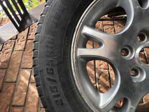 Motomaster all season tires 215/65R16