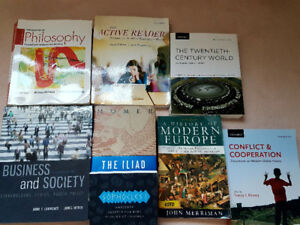 Textbooks for sale