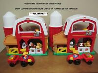 Ferme Sonore 6 figurines + Tracteur...$24 CHACUNE