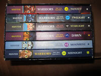 Warriors The New Prophecy Series of 6 books for tweens