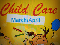 Care for March and April