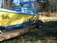 BOAT,MOTOR(9.9) AND TRAILER