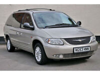 Chrysler Grand Voyager 3.3 Limited XS AUTO**1 Owner**Low Mileage**7 Seat Cars**