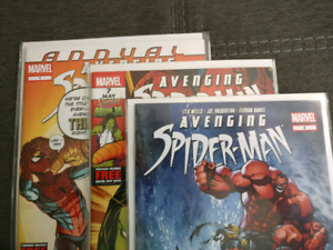 Avenging Spider-Man #2, 7, Annual #1