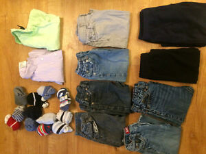 Size 18 mos and 24 mos boys clothing