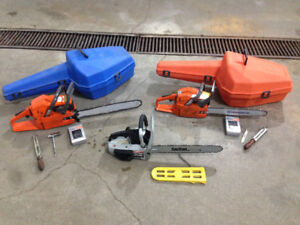 3 used chainsaws for sale