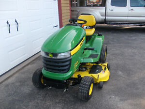 "2013 John Deere X324 4-Wheel Steer Tractor W/48"" Deck (67hrs.)"
