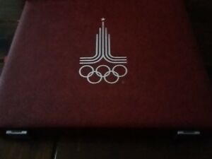 Moscow 1980 Olympic Coins